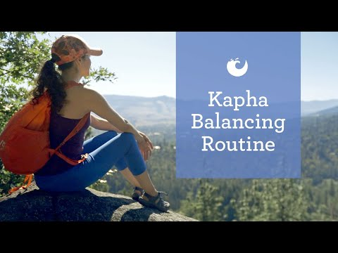 Kapha Dosha Routine [5 Tips for Creating Balance in Your Day]