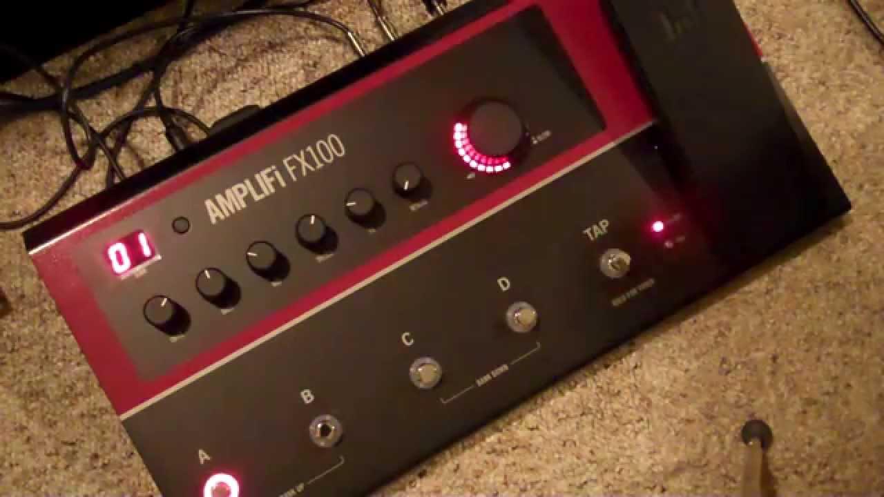 line 6 amplifi fx 100 first 3 banks of presets youtube. Black Bedroom Furniture Sets. Home Design Ideas