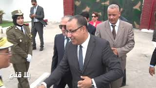 bila kinaa|وزير الداخلية يشرف على حفل تخرج دورة رقباء الحرس الوطني لسنة 2019-2020