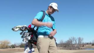 TGW 14-Way Deluxe Stand Bag on the Golf Course