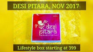 *NEW* Desi Pitara | Lifestyle box at 999 | Discount Code | Unboxing and Review | November edition thumbnail
