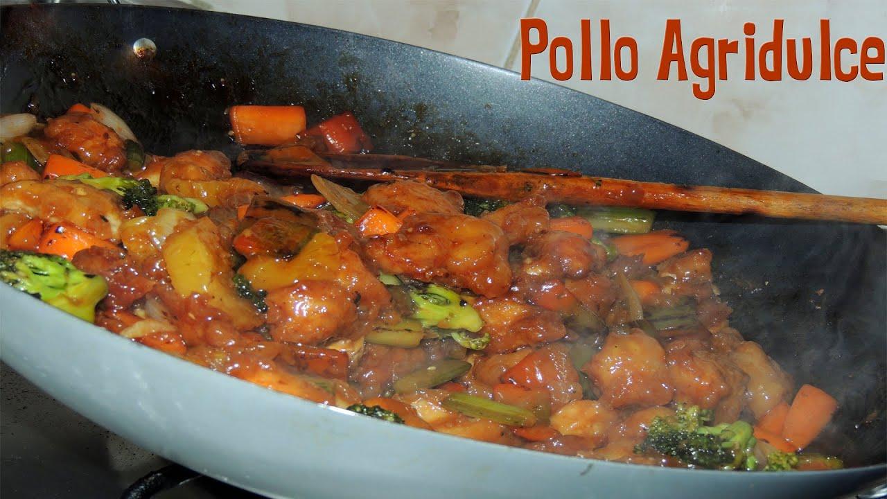 Como hacer pollo agridulce f cil y muy delicioso youtube - Atrevete a cocinar ...
