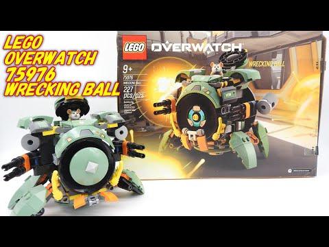 メチャかっこいい! レゴ (LEGO) オーバーウォッチ レッキングボール 75976 Overwatch Wrecking Ball