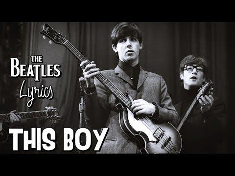 The Beatles - This Boy (Lyrics) mp3