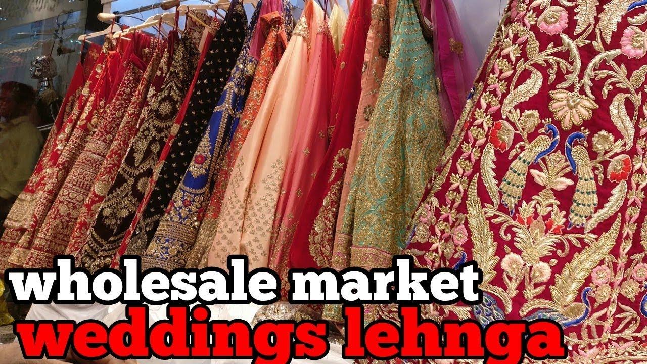 Designer lehenga | wholesale market in delhi | chandni chowk | urban hill