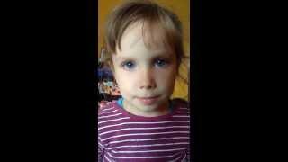 Дочка трясет глазными яблоками по команде.