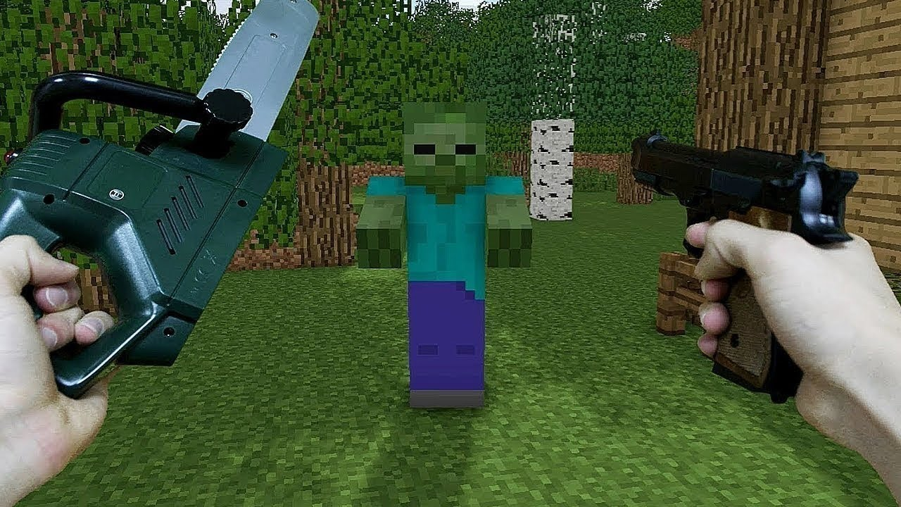 REALISTIC MINECRAFT - THE MOVIE ( 2020 )