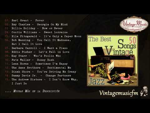 50 Songs Vocal Jazz (Full Album/Álbum Completo) Vol. 1