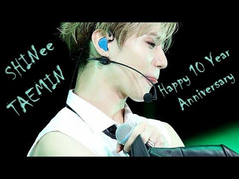 SHINee Taemin (태민) Happy 10th Anniversary 'Special Performance Mix'