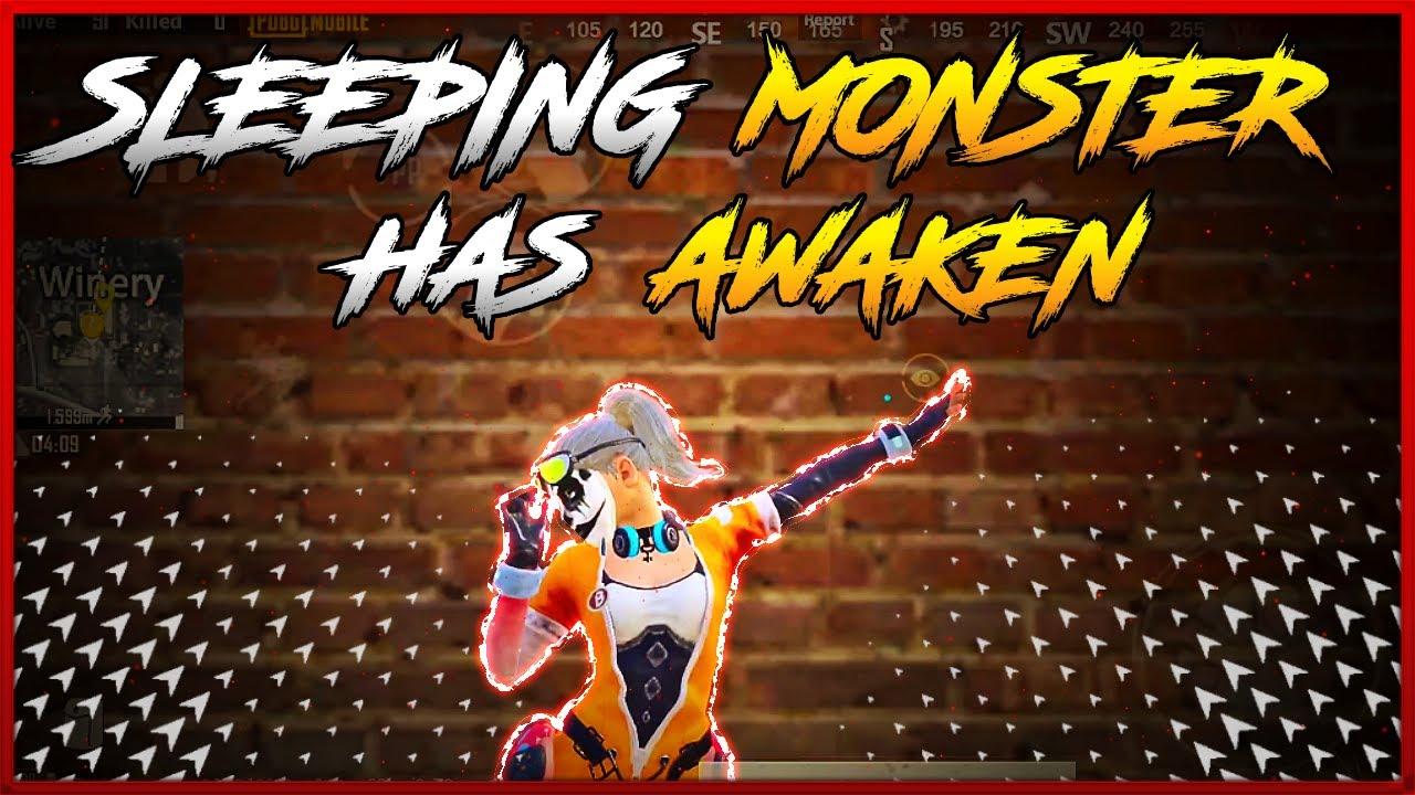 WHEN A SLEEPING MONSTER AWAKE | REDMI NOTE 5 PRO TO ONEPLUS 7T TRANSFORMATION | PUBG MOBILE MONTAGE