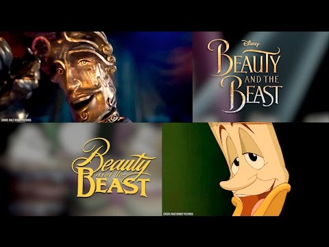 Be Our Guest Disneys Beauty and the Beast Comparis 1991 vs 2017 Animated vs  Acti