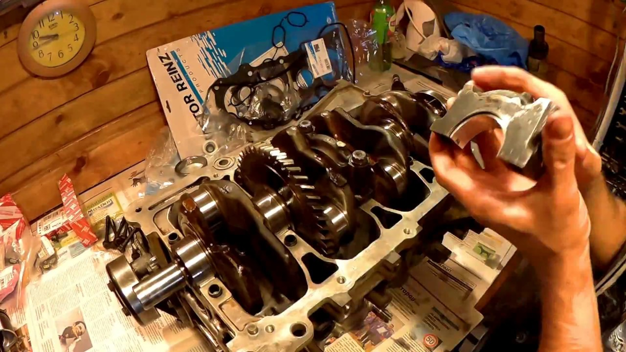 Капитальный ремонт двигателя 2AZ-FE в Мастерской Бешеного Енота