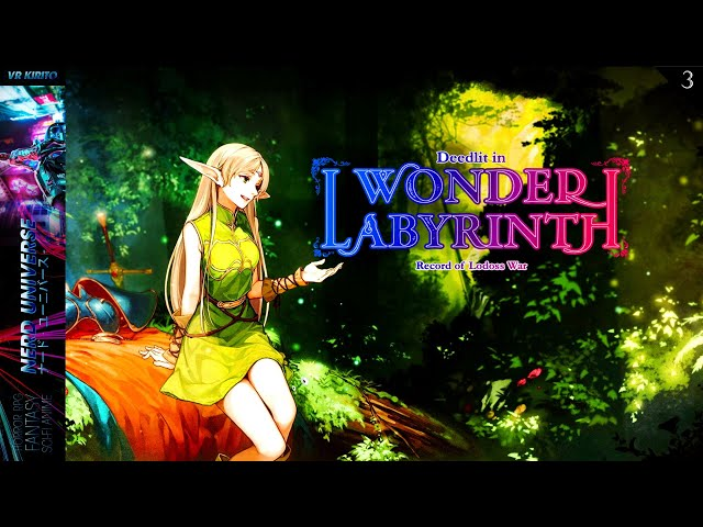 Record of Lodoss War: Deedlit in Wonder Labyrinth   #3 Gebiet 2 - Sliding & Boss Pirotess ✩ Deutsch