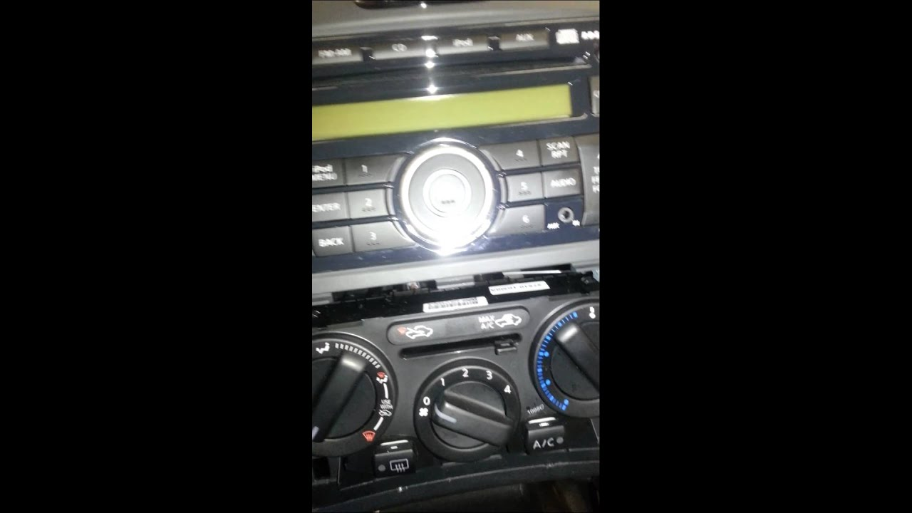 2011 Amp Up Nissan Juke Radio Removal Youtube