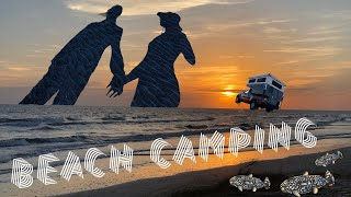 Trapped By Tides - Beąch Camping On The Louisiana Coast // Living Full-time In A Truck Camper
