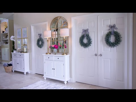 Front Door Entryway Makeover with Better Homes & Gardens at Walmart