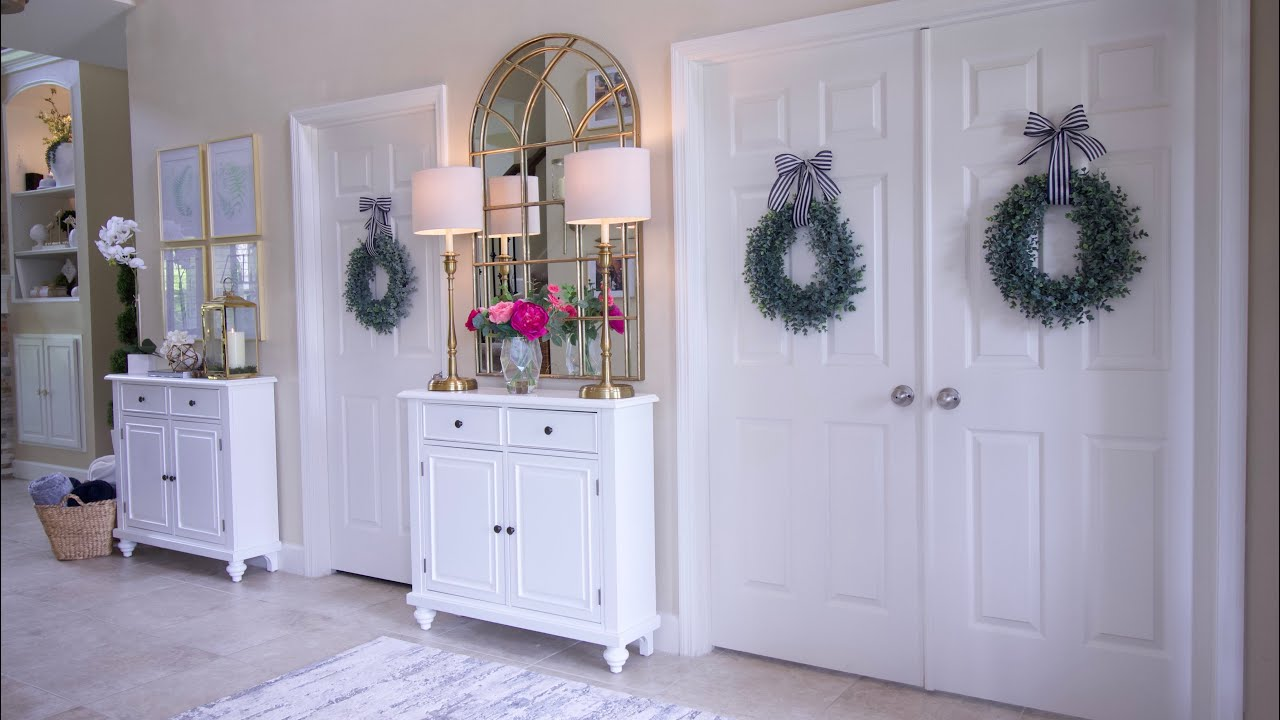 Front Door Entryway Makeover With Better Homes Gardens At Walmart