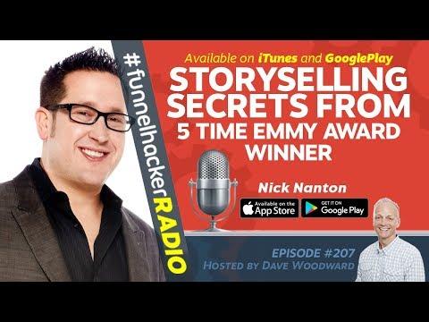Storyselling Secrets From 5 Time Emmy Award Winner - Nick Nanton - FHR #207