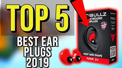 ✅ TOP 5: Best Ear Plugs 2019