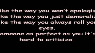 Adelitas Way - Criticize Lyrics