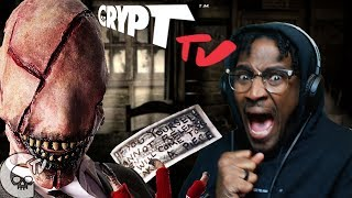 MOVIE NIGHT #13 | CRYPT TV LOOK-SEE Season 2 REACTION