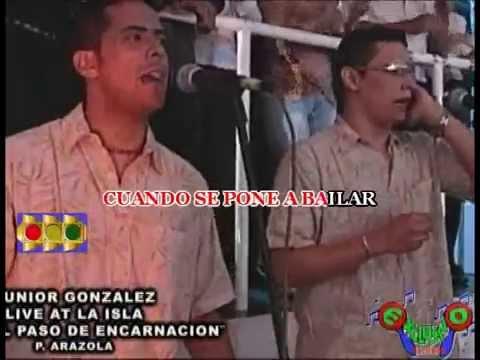 EL PASO DE ENCARNACION-JUNIOR GONZALES VERSION KARAOKE