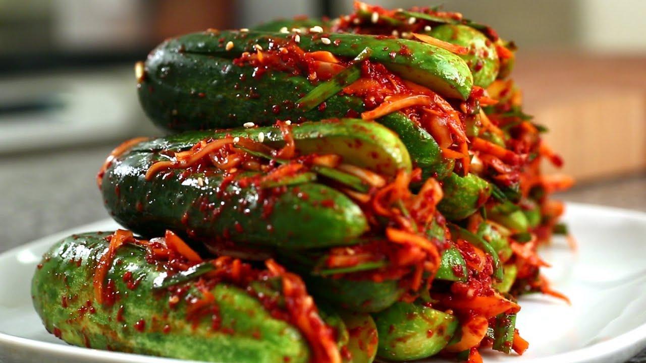 Download Cucumber kimchi (Oi-sobagi: 오이소박이)