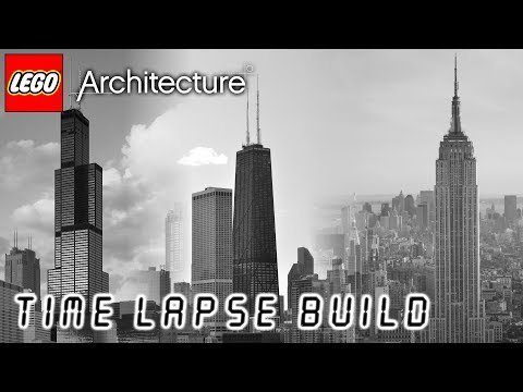 LEGO Architecture - Willis Tower (Sears Tower) | John Hancock Center | Empire State Building