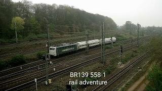 BR139 558-1 Rail Adventure (Köln Neustadt-Nord)