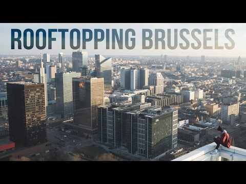 Rooftopping in Brussels