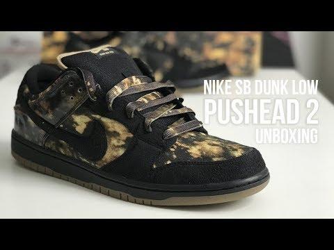 more photos c6479 f73ff Nike SB Dunk Low Premium   39 Pushead 2  39  Sneaker Unboxing