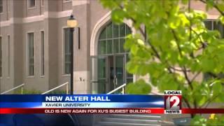 New Alter Hall at Xavier University