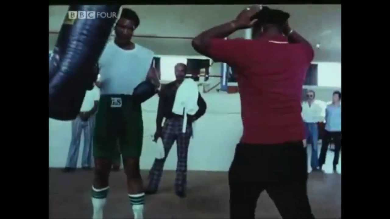 George Foreman Hitting Heavy Bag All Youtube