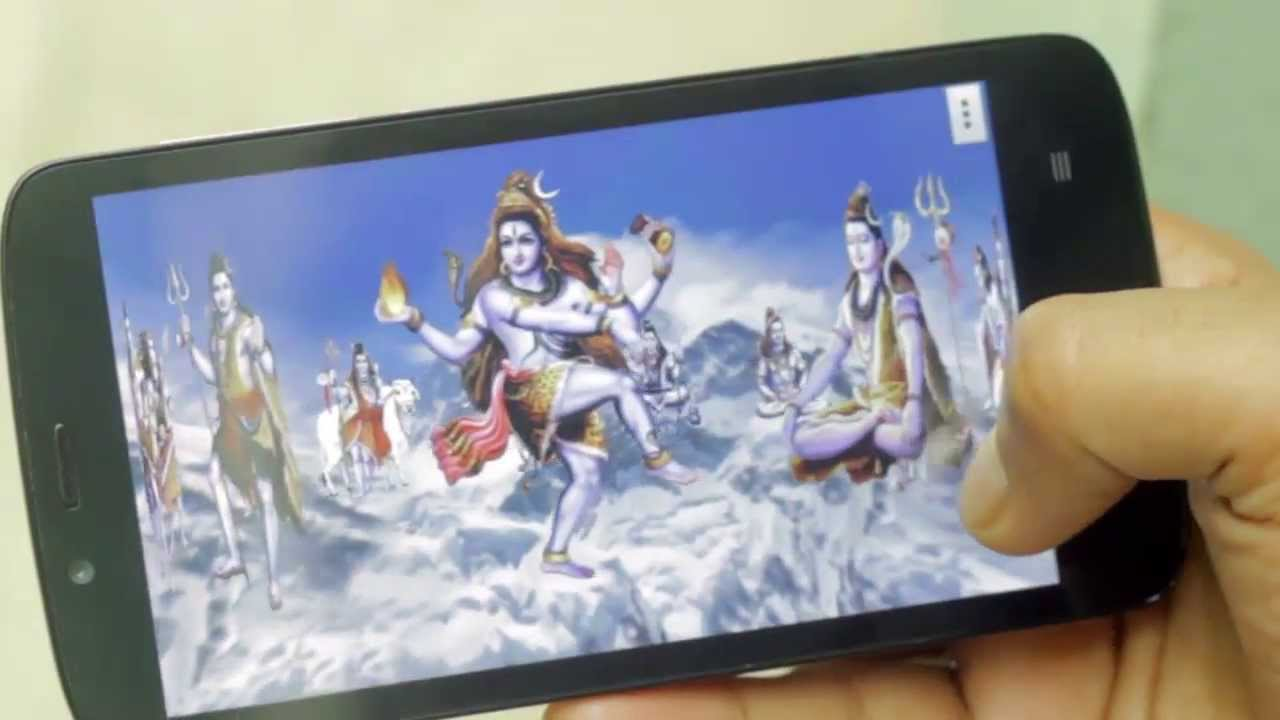 shiv's free animated 4d mobile app, live wallpaper - youtube