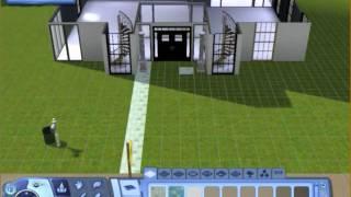 """Les sims 3: construction/aménagement Villa, partie I """"la construction"""""""