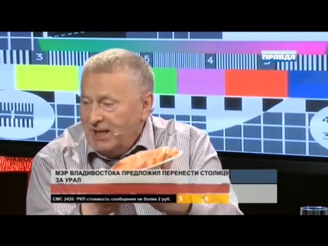 Russian politician Zhirinovsky funny interview (English subs)