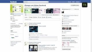 Changer son thème Facebook sous Internet Explorer