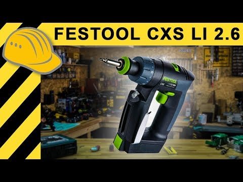 festool cxs 10 8v akkuschrauber test festool cxs li 2 6 plus youtube. Black Bedroom Furniture Sets. Home Design Ideas