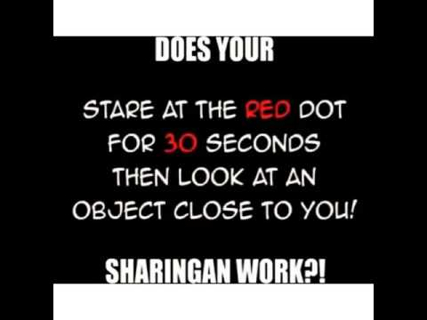 Does Your Sharingan Work?