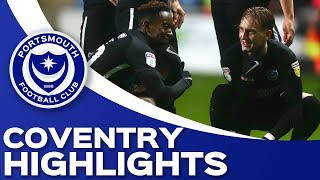 Highlights: Coventry City 0-1 Portsmouth