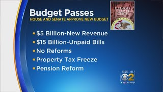Rauner Vetoes Income Tax Increase, Senate Overrides