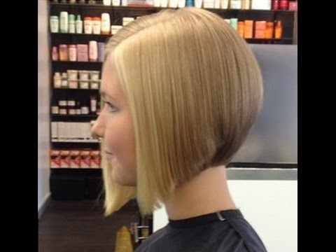 Hair Makeover - Long to Graduated Bob Haircut - YouTube