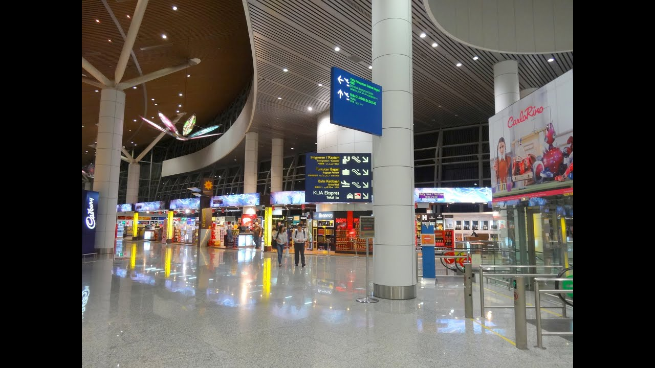 Kuala Lumpur International Airport (KLIA) - Malaysia - YouTube
