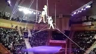 5 января 2018. Гимнастка упала в гомельском цирке