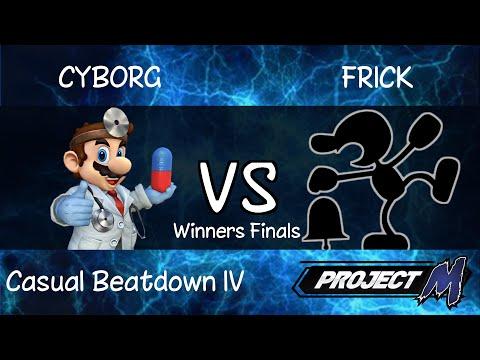 Casual Beatdown IV | Cyborg (Mario) vs Frick (Mr. Game & Watch) - Winners Finals