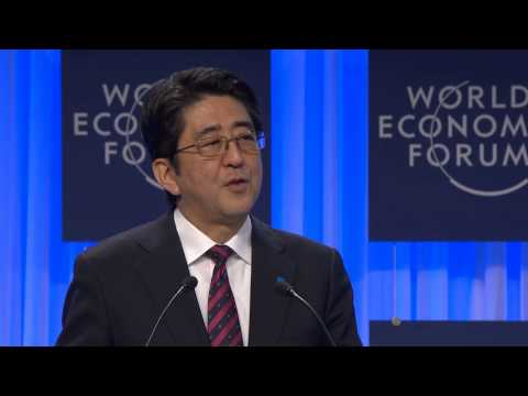 Davos 2014 - The Reshaping of the World  Vision from Japan