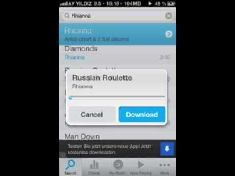 MP3 free Music  Downloader for iPhone with Cydia [German/Deutsch]
