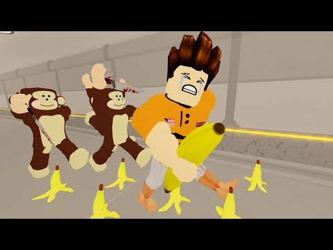 Kena Kejar Dengan Monyet Sebab Curi Pisang!!! [Monke Game 🙉] (Roblox Malaysia)