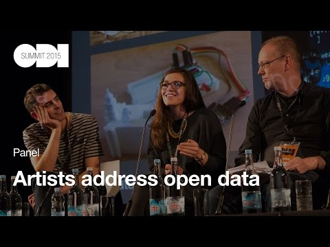 Artists address open data: Panel - ODI Summit 2015