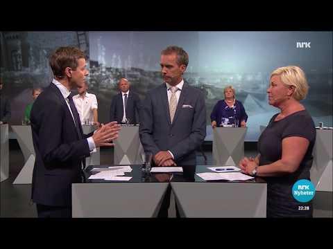 Siv Jensen om Innvandring (Valg 2017)